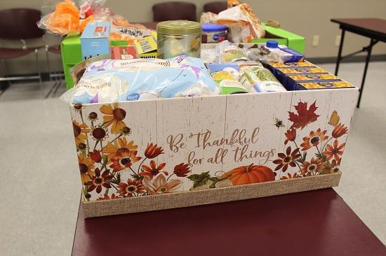 November 2020 Thankful Thanksgiving basket