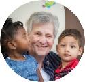 Sister Marjoire Hebert and Children
