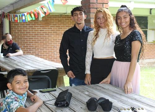 refugee family at world refugee day 2021